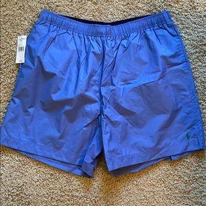 Cornflower Blue Swim Trunks